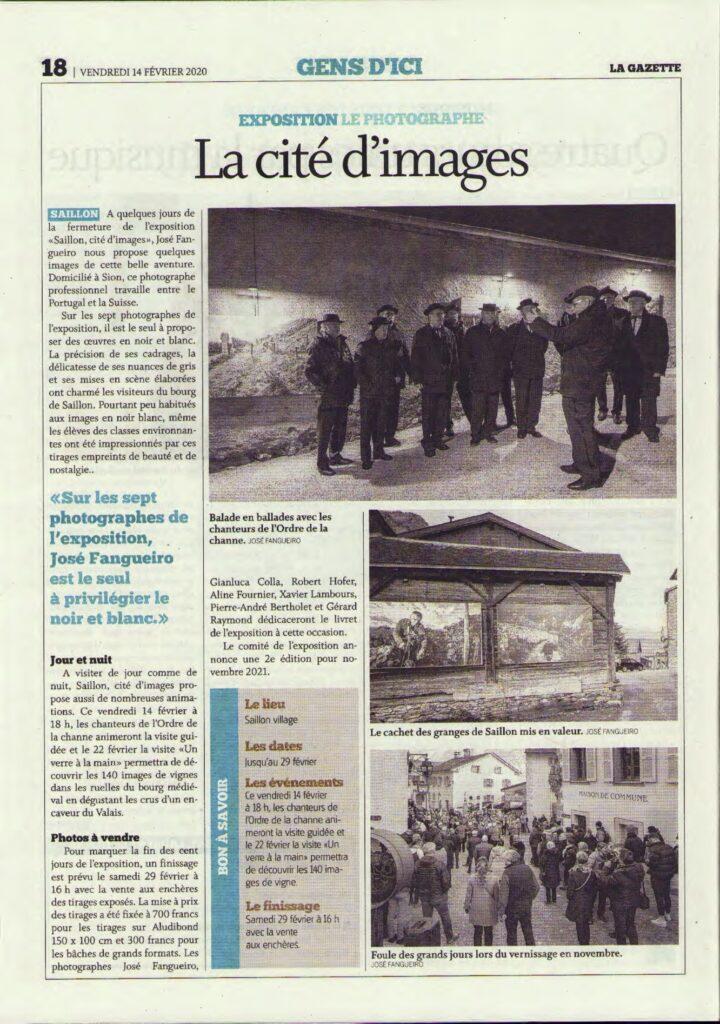 Gazette 14.2.20